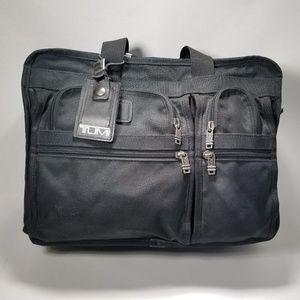 Tumi Alpha Ballistic Carry-on Laptop Briefcase